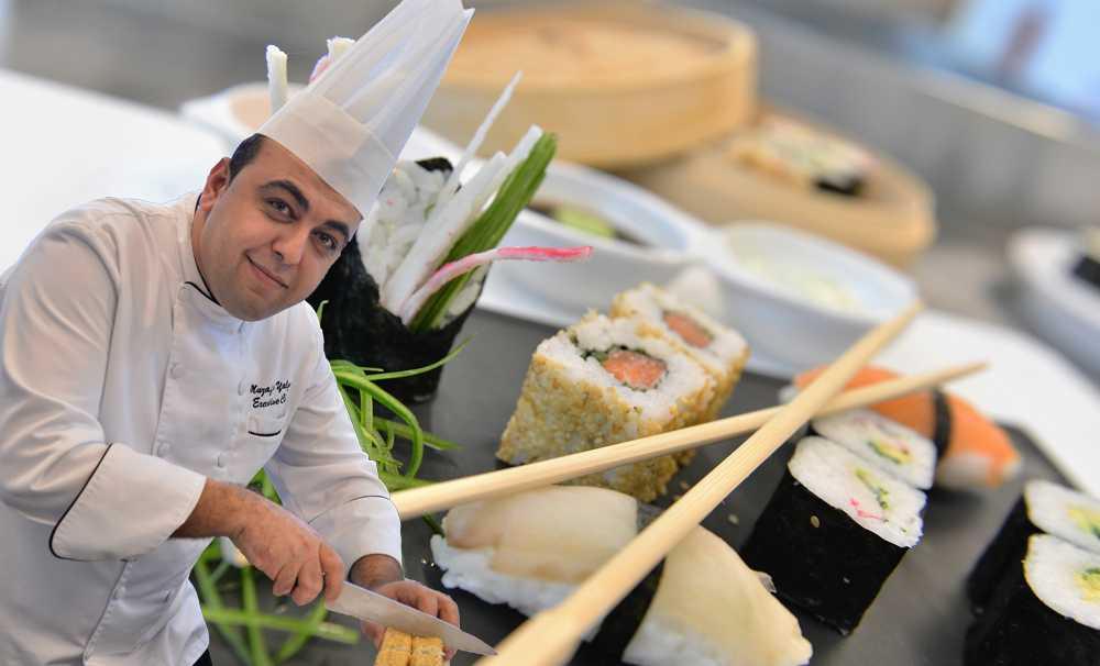 Wyndham Grand İzmir Özdilek'te Sushi yapımı kursu