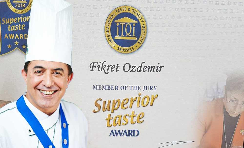 Chef Fikret Özdemir,Türkiye'yi  Brüksel'de temsil edecek