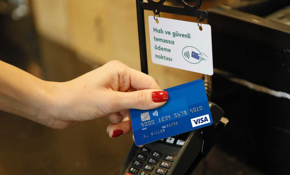 Temassız ödemelerin payı 3 ay içerisinde %50 oranında artış gösterdi