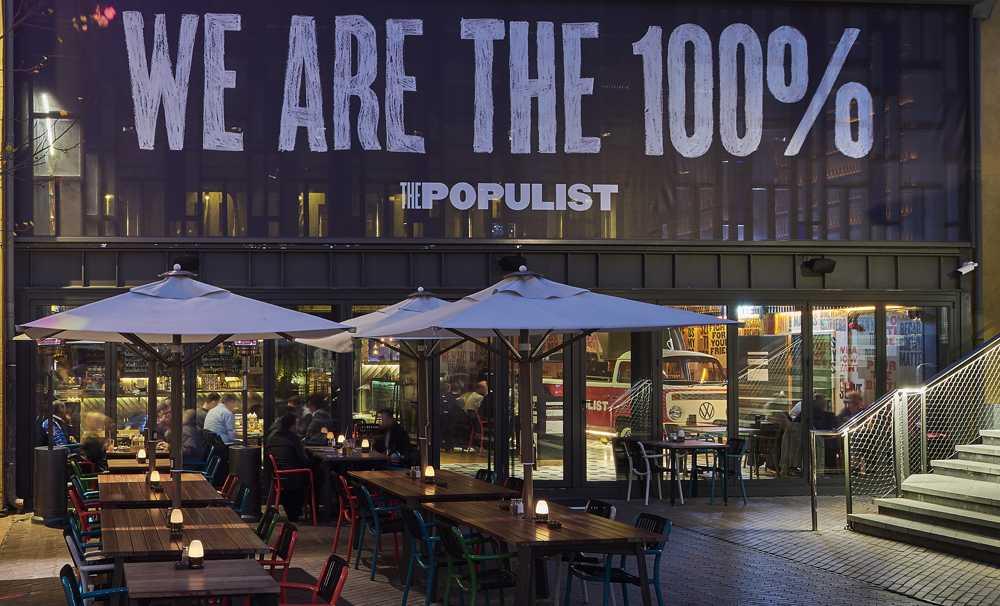 Güzel havaların tadını The Populist'te çıkarın