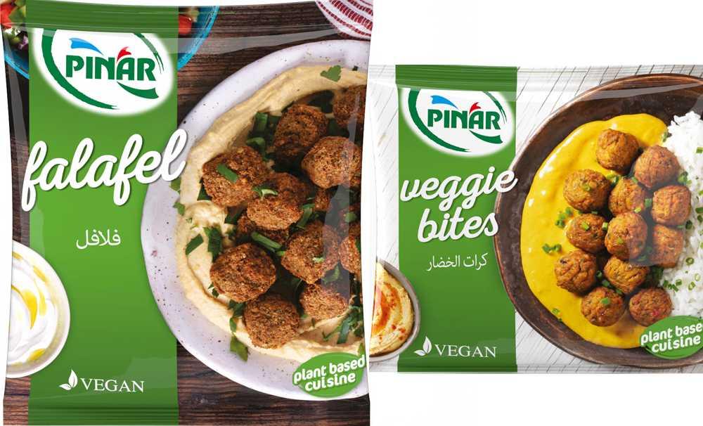 Pınar Et'ten yepyeni vegan ürünler: Pınar Falafel & Pınar Veggie Bites