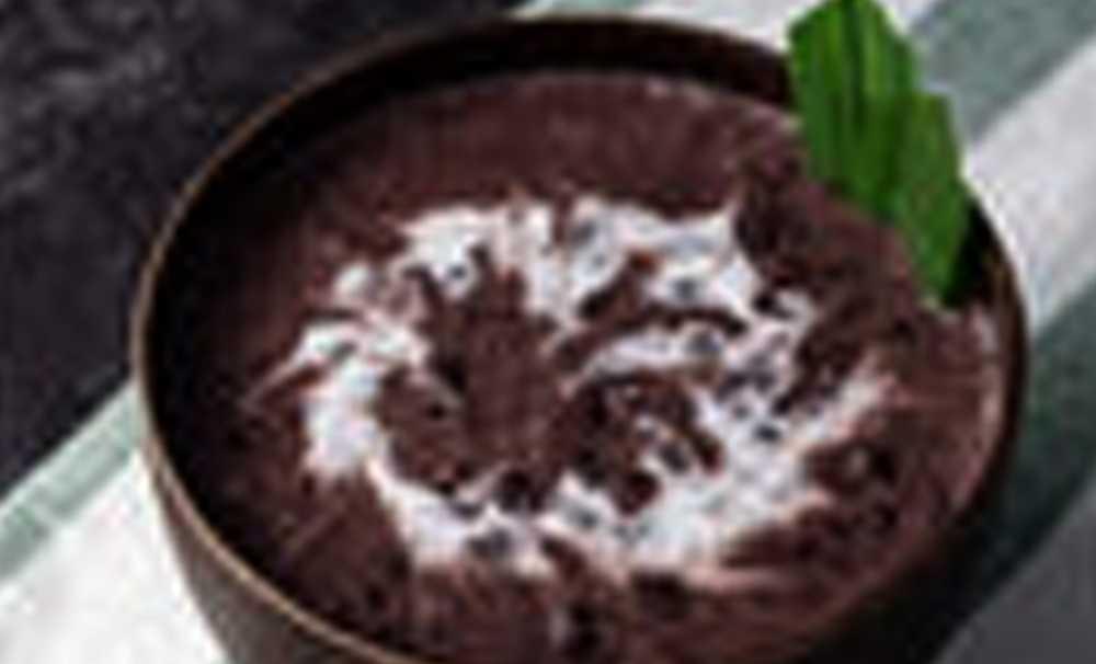 Kara Pirinçli Badem Tatlısı!
